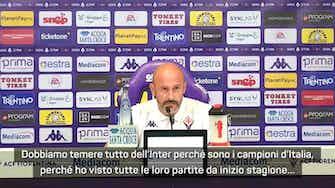 """Anteprima immagine per Italiano: """"Cosa temo dell'Inter? Tutto..."""""""