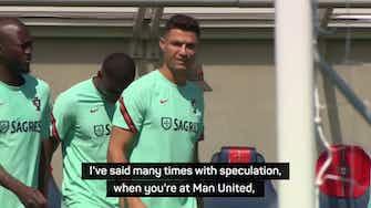 Preview image for Ronaldo a legend at Man United - Solskjaer