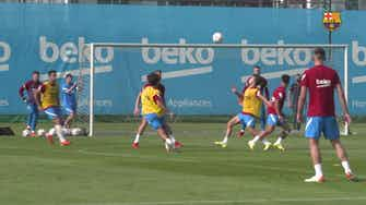 Preview image for Philippe Coutinho's superb goal in training