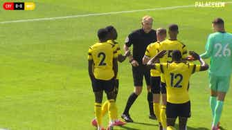 Preview image for Wilf Zaha double secures win over Watford