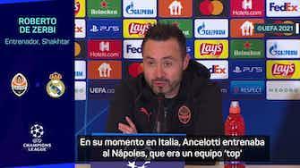 """Imagen de vista previa para De Zerbi: """"Esto no es un Ancelotti contra De Zerbi"""""""