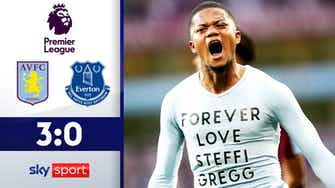 Vorschaubild für Bailey trifft bei Villa-Sieg! | Aston Villa - FC Everton 3:0