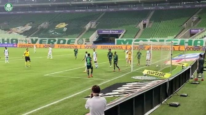 Palmeiras beat Chapecoense in the second round of 2021 Brasileirão Série A
