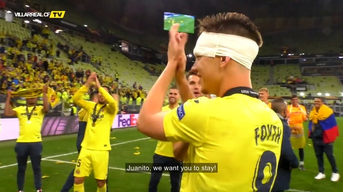 Preview image for Juan Foyth stays at Villarreal CF
