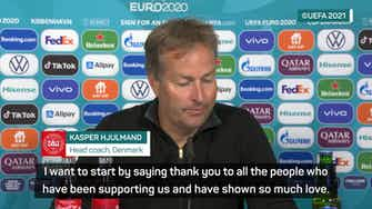 Preview image for Denmark thinking about Eriksen 'all the way' - Hjulmand