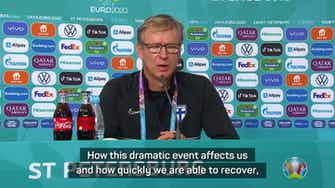 Preview image for Finland must remain focused after emotionally difficult Denmark clash