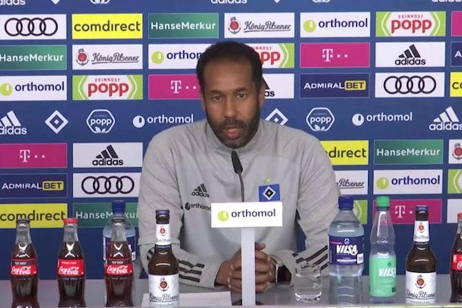 """HSV-Trainer Thioune: """"Gehen gegen den KSC All-In"""""""