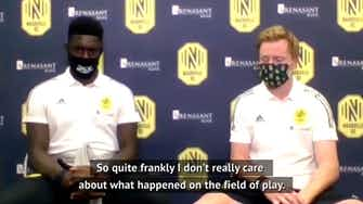 Preview image for Nashville SC stand in solidarity in wake of MLS postponements