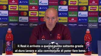 """Anteprima immagine per Orgoglio Zidane: """"Nel calcio i miracoli non esistono"""""""