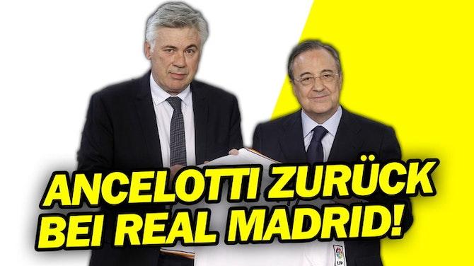 Done Deal? Carlo Ancelotti und FC Everton sind sich einig mit Real Madrid!