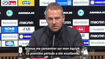 """Image d'aperçu pour 4e j. - Flick : """"Très satisfait de mon équipe"""""""