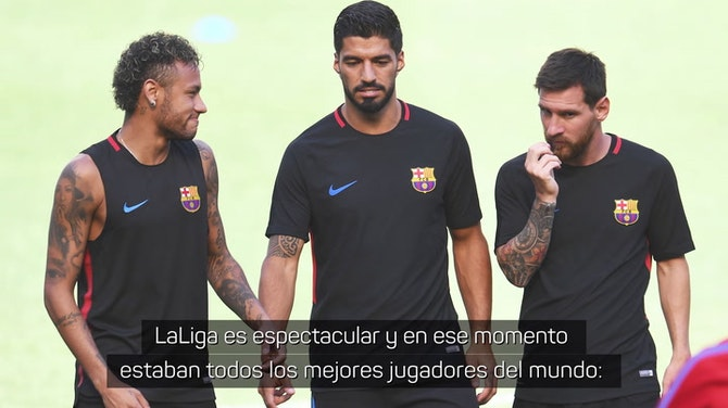 """Sansone sobre LaLiga en 2016: """"Estaban todos los mejores jugadores del mundo"""""""
