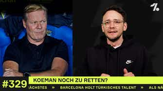 Vorschaubild für Barca wieder ohne Sieg: Koeman noch zu retten?