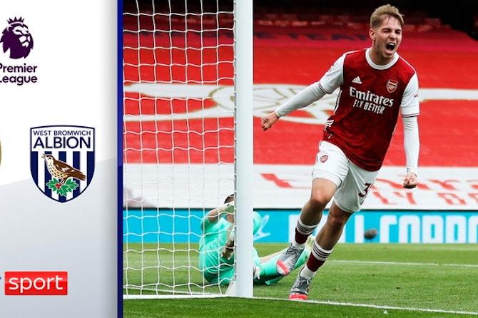 Zaubernde Gunners rehabilitieren sich | Highlights: FC Arsenal - West Bromwich 3:1