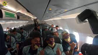 Imagem de visualização para Bastidores da chegada do América do México para amistoso em Dallas