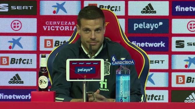 """Azpilicueta, en titulares: """"Contra Eslovaquia es un partido a cara o cruz"""""""