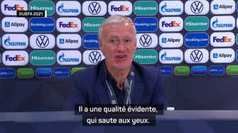 """Image d'aperçu pour Finale - Deschamps : """"Benzema a cette rage de vaincre"""""""