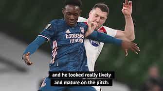 Preview image for Arteta confirms teenage sensation Balogun wants to stay at Arsenal