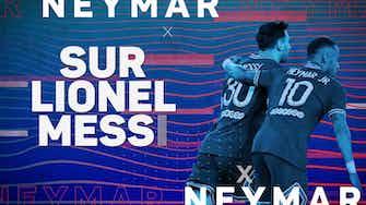 """Image d'aperçu pour Interview - Neymar : """"Écrire l'histoire du PSG avec Messi"""""""