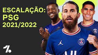 Imagem de visualização para SÉRGIO RAMOS, HAKIMI e CIA! Qual a ESCALAÇÃO do PSG pra temporada 21/22?