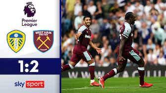 Vorschaubild für Hammers drehen Spiel in letzter Minute! | Leeds - West Ham 1:2