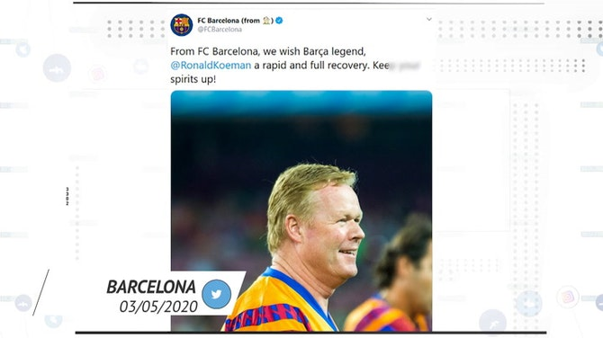 Preview image for Socialeyesed: Ronald Koeman undergoes a heart operation