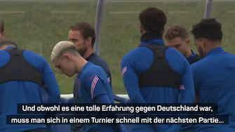 Vorschaubild für Southgate froh über EM-Spiel außerhalb Englands