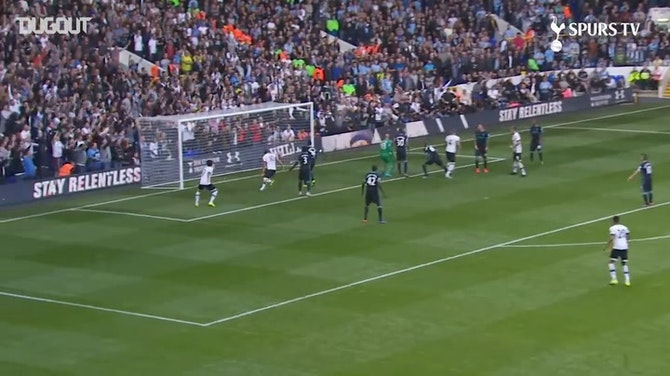 Preview image for Toby Alderweireld's heads home first Spurs goal vs Man City