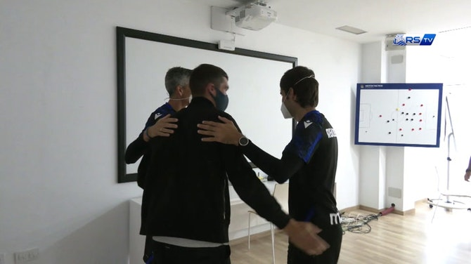 Imagen de vista previa para La bienvenida de Matt Ryan a la Real Sociedad