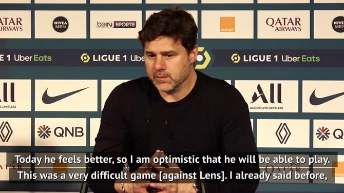 Pochettino hopeful Mbappe will be ready for City after PSG see off Lens