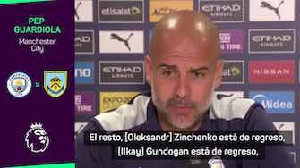 """Imagen de vista previa para Guardiola da cuentas de la lesión de Ferrán Torres: """"Estará fuera 2 o 3 meses"""""""