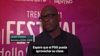 """Imagen de vista previa para Thuram: """"Perder a Messi es un problema, pero el Barça es el Barça"""""""