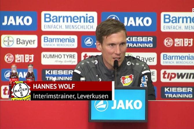 """Wolf vor Frankfurt: """"Für uns geht es um viel"""""""