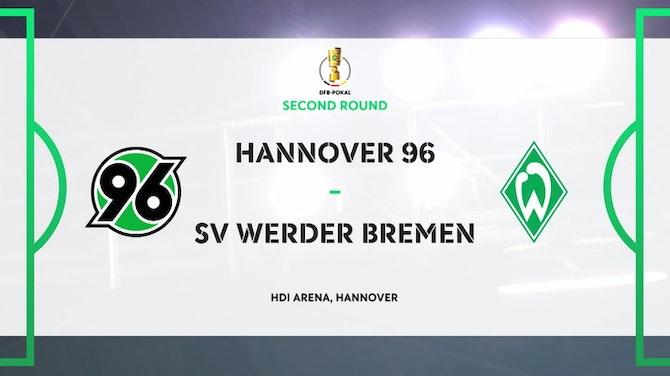 Image d'aperçu pour DFB Pokal Highlights: Hannover 0-3 Werder Bremen