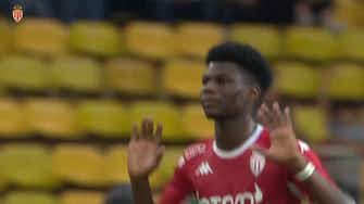 Preview image for  Aurélien Tchouameni's first 2021-22 Ligue 1 goal