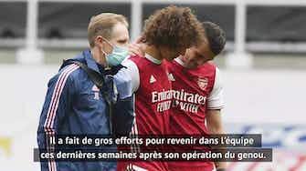Image d'aperçu pour 34e j. - Arteta inquiet pour David Luiz