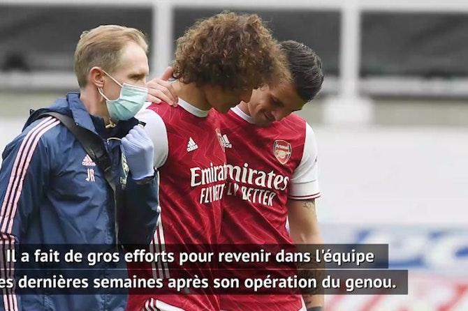 34e j. - Arteta inquiet pour David Luiz