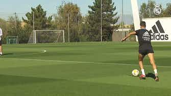 Preview image for Toni Kroos in another session at Real Madrid City