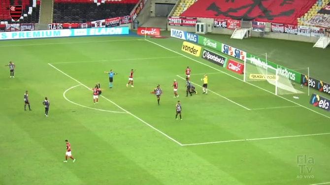 Imagem de visualização para Flamengo goleia o ABC no Maracanã; veja os gols