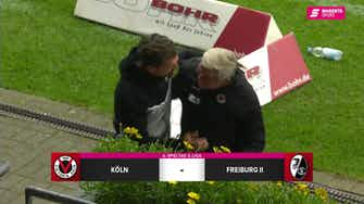 Vorschaubild für FC Viktoria Köln - SC Freiburg II (Highlights)