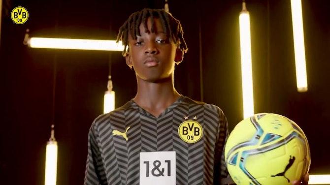 Image d'aperçu pour Le maillot extérieur de Borussia Dortmund 2021-22