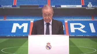 """Imagen de vista previa para Florentino Pérez en la presentación de Camavinga: """"Conocíamos desde hace dos años su enorme calidad"""""""
