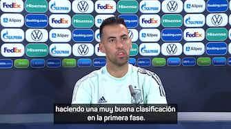 """Imagen de vista previa para Sergio Busquets: """"Entiendo que cada uno saque el seleccionador que lleva dentro"""""""