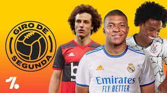 Imagem de visualização para Mbappe, David Luiz e Willian! Mercado e notícias do FUTEBOL