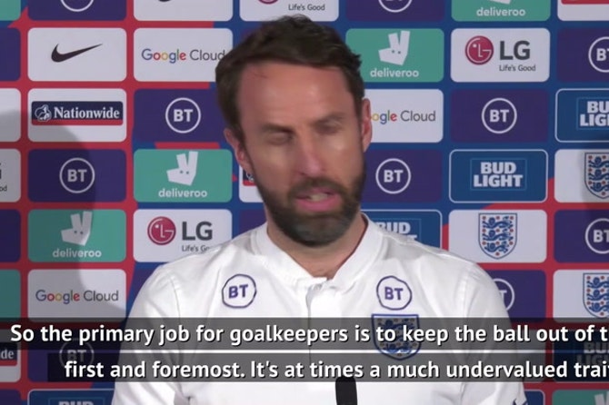Pope keeps the ball out of England's net - and that's under rated! Southgate