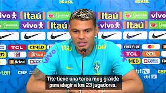 """Imagen de vista previa para Thiago Silva: """"La derrota con Argentina en la Copa América nos ha fortalecido"""""""