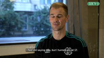 Preview image for Joe Hart looking to bring 'passion' after completing Celtic move
