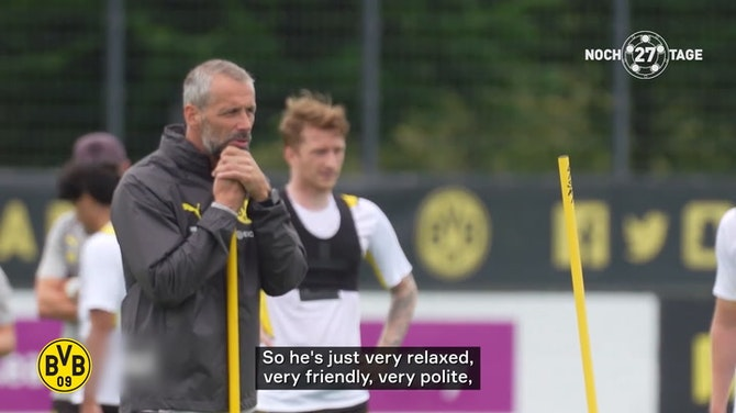 Preview image for Marco Reus on Rose: 'I think he will have a lot of fun here'