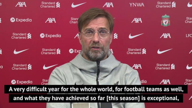 Guardiola 'the best manager in the world' - Klopp