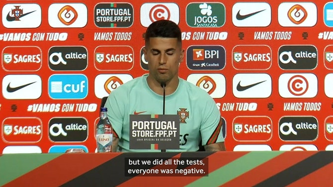 João Cancelo on Busquets testing positive for Covid after Portugal vs Spain